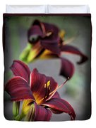 Daylilies Forever Duvet Cover