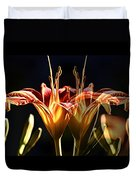 Daylily Doubled Duvet Cover