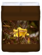 Daylily In Autumn Duvet Cover