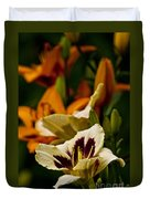 Daylily Picture 487 Duvet Cover