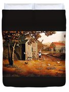Days Of Discovery Duvet Cover