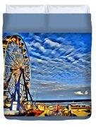 Daytona Ferris Wheel Duvet Cover