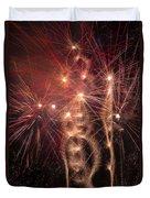 Dazzling Fireworks Duvet Cover