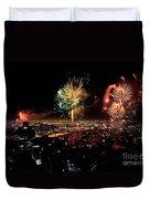 Dazzling Fireworks Iv Duvet Cover