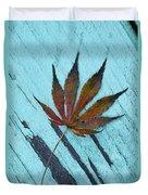 Dazzling Japanese Maple Leaf Duvet Cover
