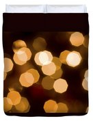 Dazzling Lights Duvet Cover by Rich Franco