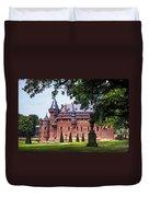 De Haar Castle 3. Utrecht. Netherlands Duvet Cover by Jenny Rainbow