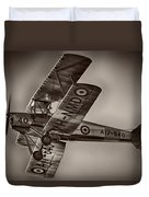 De Havilland Dh-82a Tiger Moth V5 Duvet Cover