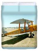 De-havilland Tiger Moth Duvet Cover
