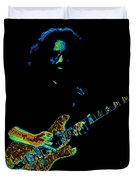 Dead #32 Enhanced Cosmic Colors 3 Duvet Cover