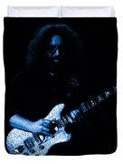 Dead #32 In Blue Duvet Cover
