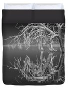 Dead Arch Black And White Duvet Cover