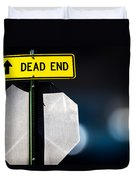Dead End Duvet Cover