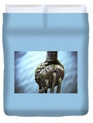 Dead Eye - Nautical Art  Duvet Cover