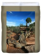 Dead Horse Point Tree 1 Duvet Cover