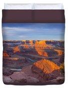 Dead Horse State Park Duvet Cover
