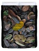 Dead Leaves Duvet Cover