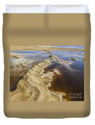 Dead Sea Landscape Duvet Cover