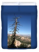 Dead Tree At Bryce Canyon  Overlook Duvet Cover