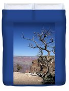 Dead Tree At The View Point Duvet Cover
