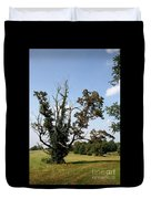 Dead Tree With Ivy Duvet Cover
