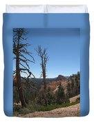 Dead Trees At Bryce Canyon Duvet Cover