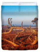 Dead Trees, Southern Uplands Duvet Cover