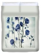 Deadly Beauty Duvet Cover by Priska Wettstein