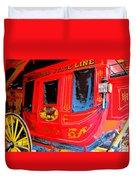 Deadwood Stagecoach Duvet Cover