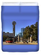Dealey Plaza Duvet Cover