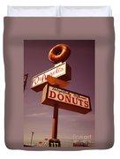 Deangelis Donuts Duvet Cover