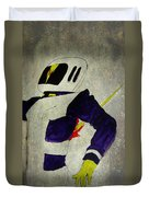 Death Of An Astronaut  Duvet Cover