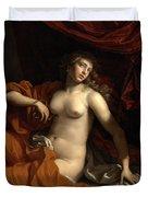 Death Of Cleopatra Duvet Cover
