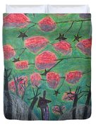 Death Tree Duvet Cover