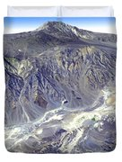 Death Valley From Outer Space Duvet Cover