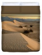 Death Valley Mesquite Flat Sand Dunes Img 0177 Duvet Cover