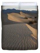 Death Valley Mesquite Flat Sand Dunes Img 0181 Duvet Cover