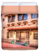 Death Valley Ranch Duvet Cover