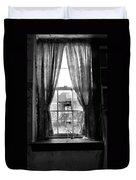 Deaths Window Duvet Cover