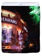 Debenhams Bournemouth At Christmas Duvet Cover