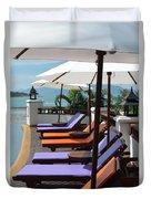 Deckchairs Duvet Cover