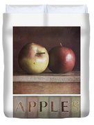 Deco Apples Duvet Cover