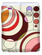 Deco Circles Duvet Cover