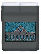 Deco Metal Blue Duvet Cover