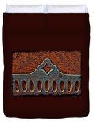 Deco Metal Red Duvet Cover