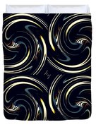 Deco Swirls Duvet Cover