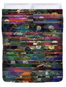 Deconstructed Landscape In A Drawer Duvet Cover