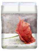 Decor Poppy Red Duvet Cover