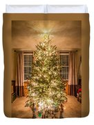 Decorated Christmas Tree Duvet Cover