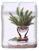 Decorating For Christmas Duvet Cover